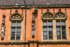Sculptures and architectural details Royalty Free Stock Photography