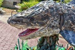 sculptures avec des images des déchets des animaux Images libres de droits