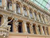 Sculptures on the balcony of Odessa Stock Photography