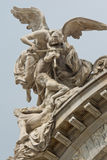 Sculptures on Bellas Artes Palace of fine art, Mexico city, Mexico Stock Images