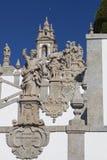 Sculptures in Bom Jesus do Monte, Braga Royalty Free Stock Photos