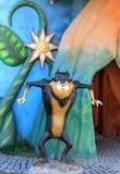 Sculptures cartoon characters in  Wonderland Park in Ankara capital of Turkey Royalty Free Stock Images