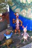 Sculptures cartoon characters in  Wonderland Park in Ankara capital of Turkey Stock Photo