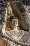 Sculptures carved on sandstones Royalty Free Stock Image