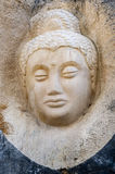 Sculptures carved on sandstones Stock Images