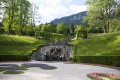 Sculptures in castle park Linderhof, Bavaria Stock Image