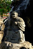 Sculptures chinoises dans le temple Photos stock