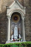 Sculptures of the Church of the Immaculate Conception of Blessed Virgin Mary Stock Images