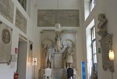 Sculptures classiques à l'intérieur du Siam Photo stock