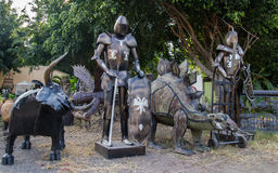 Sculptures in Colima Stock Images
