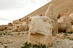 Sculptures of the Commagene Kingdom, Nemrut Mountain Stock Photos