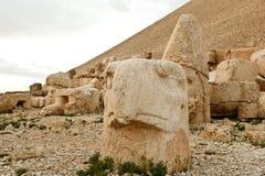 Sculptures of the Commagene Kingdom, Nemrut Mountain Stock Photos