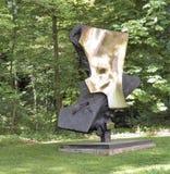 Sculptures dans le château Arenberg Salzbourg Autriche de jardin, image libre de droits