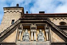 Sculptures des saints Images libres de droits