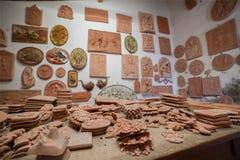 Sculptures en argile Photos stock