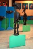 Sculptures en bois d'Afrique Images libres de droits