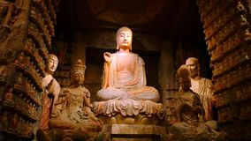Sculptures en Bouddha Photographie stock libre de droits