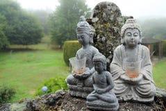 Sculptures en Bouddha Images libres de droits