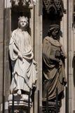 Sculptures en cathédrale de Cologne   photo stock