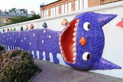 Sculptures en chat Photo stock
