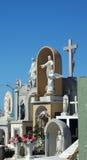 Sculptures en cimetière Image libre de droits