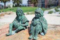Sculptures en conte de fées sur le bord de mer de Geelong Photographie stock libre de droits
