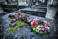 Sculptures en fleur Photographie stock