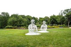 Sculptures en métal Photo libre de droits