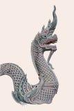 Sculptures en Naga Photographie stock libre de droits