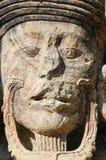 Sculptures en stationnement archéologique dans des ruinas de Copan photos libres de droits
