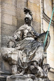 Sculptures on the facade the Hotel Les Invalides. Paris Stock Images