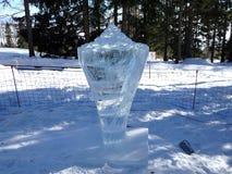 Sculptures faites de glace - haut Tatras - Slovaquie Photos libres de droits