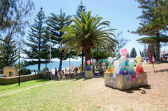 Sculptures on the Foreshore: Cottesloe Beach Royalty Free Stock Photography