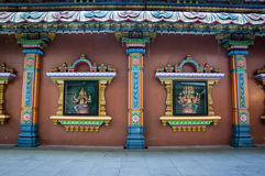 SCULPTURES OF HINDU DEITIES IN KUALA LUMPUR Stock Images