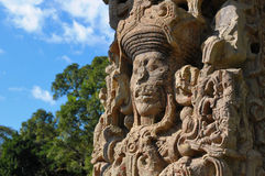Free Sculptures In Archeological Park In Copan Ruinas Stock Photography - 21367292