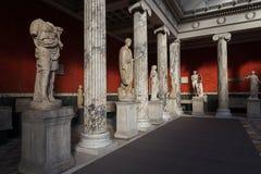 Sculptures inside the New Carlsberg Glyptotek in Copenhagen Royalty Free Stock Image