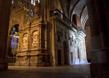 Sculptures, Interior of Leon Royalty Free Stock Image