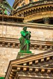 Isaac cathedral in St Petersburg Stock Image