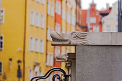Sculptures on Mariacka street in Gdansk,  Poland. Stock Photography