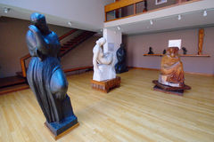 Sculptures In The Mestrovic Atelier, Zagreb Stock Images