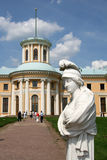Sculptures in Museum-Estate Arkhangelskoye (18th century) located around 20 kilometers to the west from Moscow Stock Photos