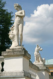 Sculptures in Museum-Estate Arkhangelskoye (18th century) located around 20 kilometers to the west from Moscow Royalty Free Stock Photo