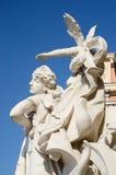 Sculptures at Odessa Ukraine Opera House, Ukraine Stock Image