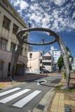 Street art in Nagoya city, Japan stock photo