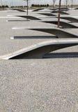 Sculptures of Pentagon Memorial Stock Image