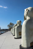 Sculptures in San Diego, California Royalty Free Stock Image