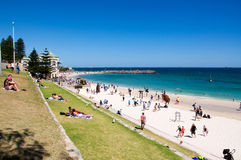 Sculptures by the Sea: Arts at Cottesloe Beach Stock Images