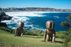 Sculptures by the Sea, Bondi Beach, Sydney , Australia Stock Images