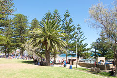 Sculptures by the Sea: Cottesloe Beach Foreshore Stock Photography