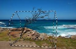 Sculptures by the Sea exhibition at Bondi beach, Sydney, Australia Stock Images